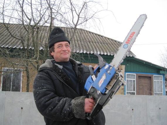 Олександр Салюк, працівник Агроресурсу