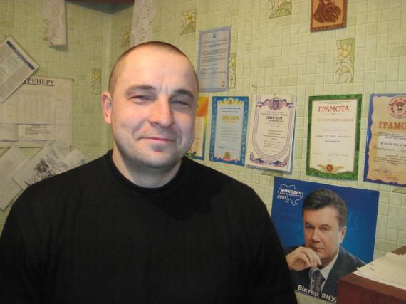 Сергій Таратухін, директор ДЮСШ (1)
