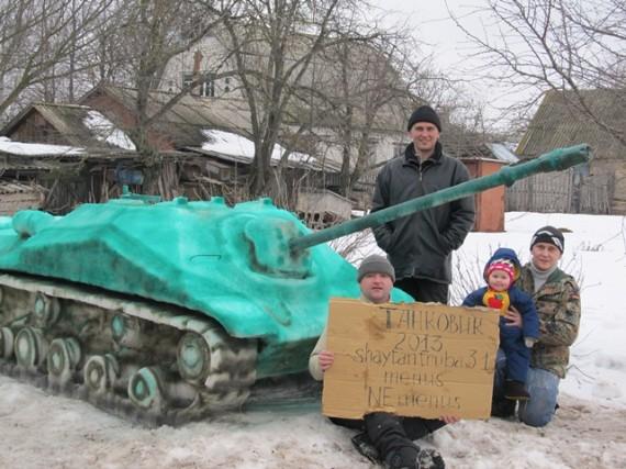 Олег Малишенко, Дмитро Кадиков та В'ячеслав Киричок з донькою Настею