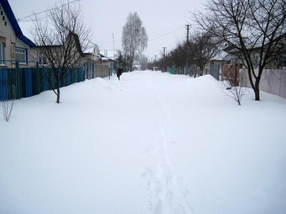 Йшов 24-й день весни... Мена. 24 березня 2013 року. Перезимували зиму, перезимуємо й весну :)